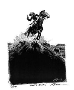 Billys Back-Art Print