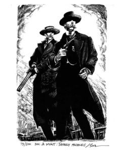 Doc and Wyatt-Deadly Friends-Art Print