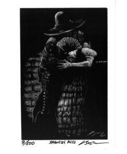 Spanish Kiss-Art Print