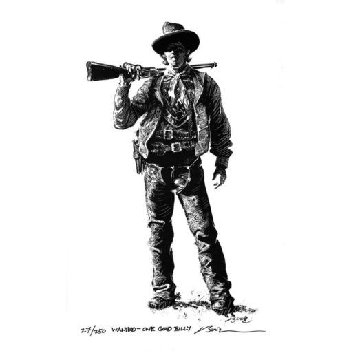 Wanted-One Good Billy-Art Print