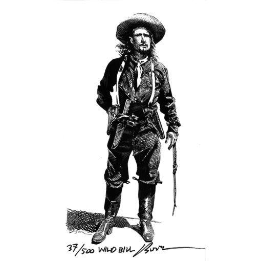 Wild Bill-Art Print