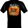 Wild Bill The First Gunfighter T-Shirt, Black