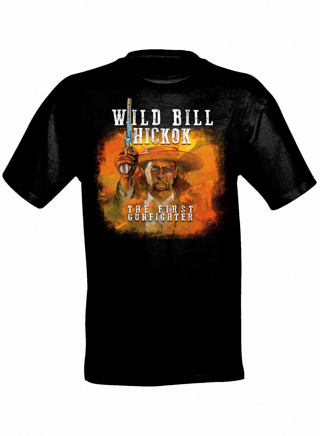 Wild Bill The First Gunfighter T Shirt Shop True West