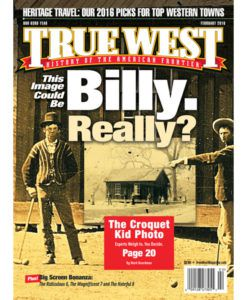 Billy The Kid Croquet Kid True West Magazine February 2016