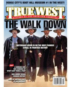 True West Magazine Collector Issue September 2016 The Walk Down