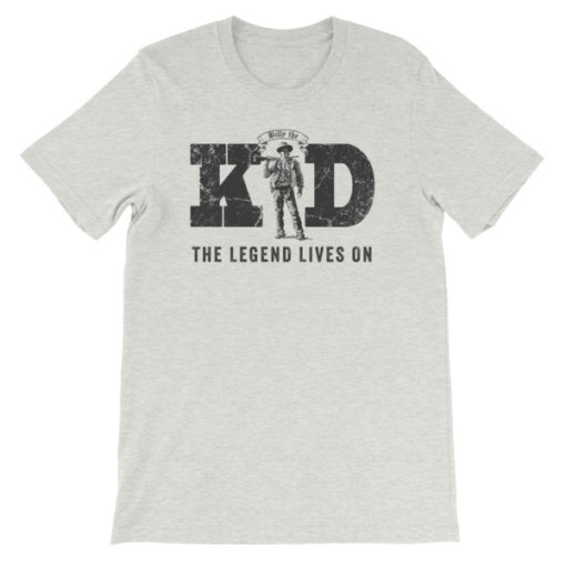 Billy The Kid-The Legend Lives On | T-Shirt | Ash