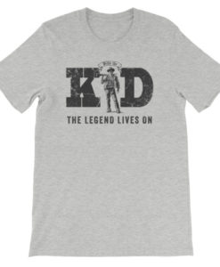 Billy The Kid-The Legend Lives On | T-Shirt | Athletic Heather