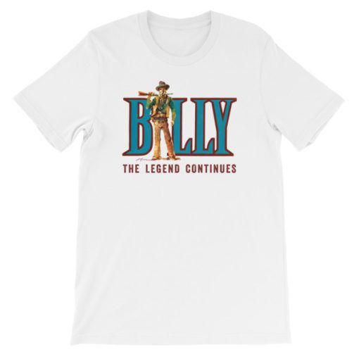 Billy The Kid-The Legend Continues T-Shirt, White