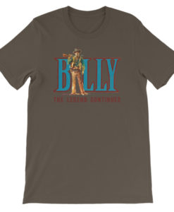 Billy The Kid-The Legend Continues T-Shirt, Army