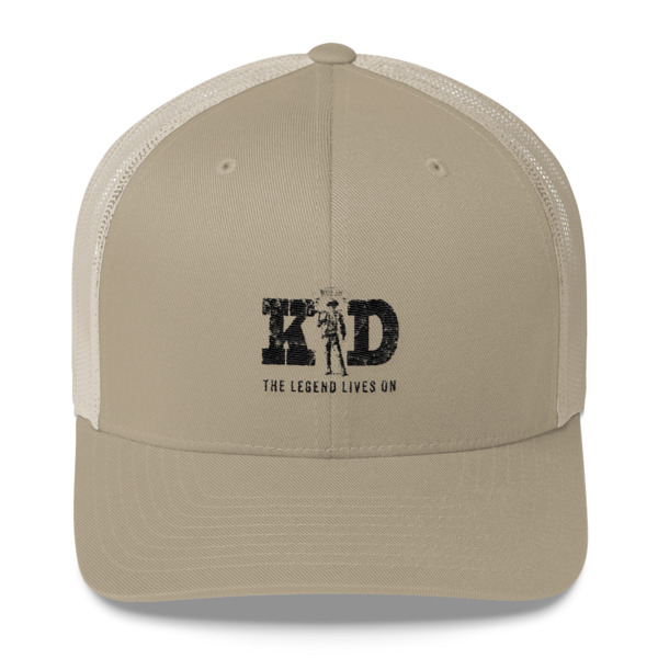 7d94973ac Billy The Kid-The Legend Lives On Trucker Cap | Shop True West