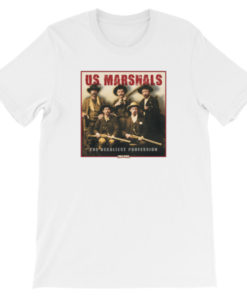 US Marshals The Deadliest Profession TShirt-White
