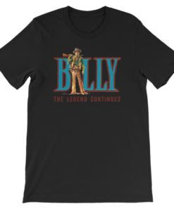 Billy The Kid-The Legend Continues T-Shirt, Black