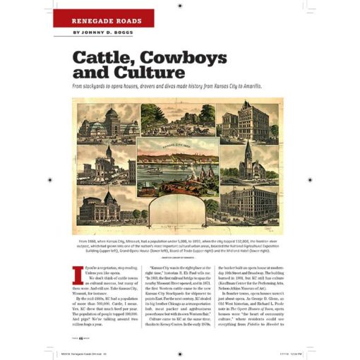 True West Magazine Collector Issue March 2018 - Cattle, Cowboys and Culture