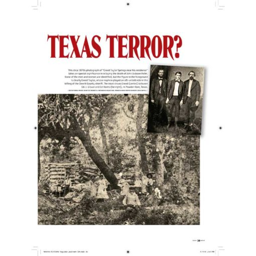 True West Magazine Collector Issue March 2018 - Texas Terror