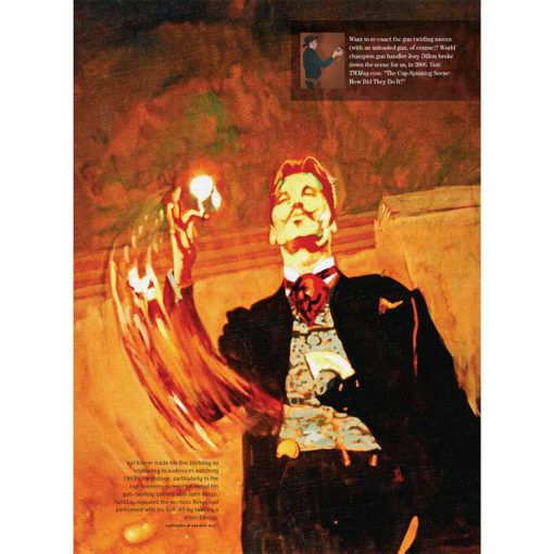 True West Magazine May 2018 | Cup Spinning Scene - Movie Tombstone