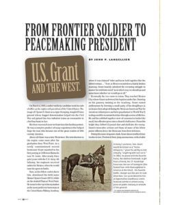 True West Magazine May 2018 | US Grant - Peacemaker President