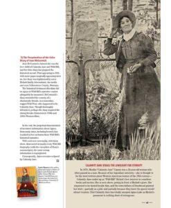 True West Magazine Collector Issue December 2017 Calamity Jane