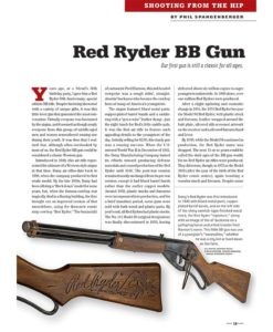 True West Magazine Collector Issue December 2017 Red Ryder BB Gun