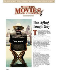 True West Magazine Collector Issue January 2018 - The Aging Tough Guy