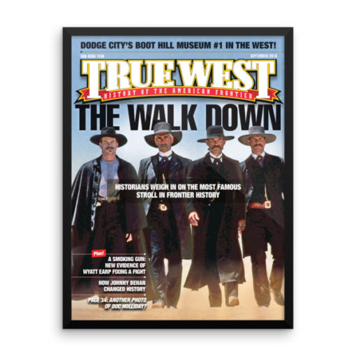 True West Poster The Walk Down True West September 2016