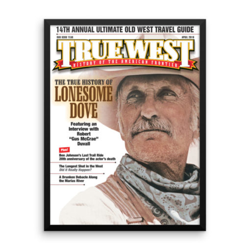 True West Poster Lonesome Dove