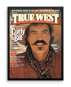 True West Poster Curly Bill Well Bye True West September 2017