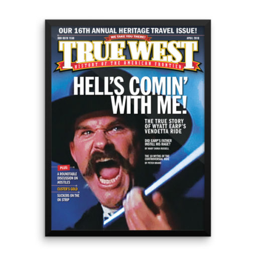True West Poster Hells Coming With Me April 2018
