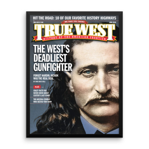 True West Poster Wests Deadliest Gunfighter June 2018