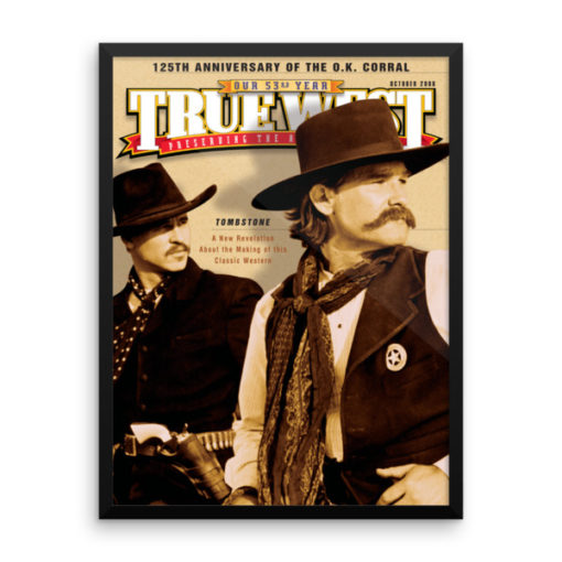 True West Poster Tombstone 125th Anniversary True West Oct 2006