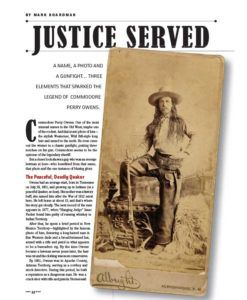 True-West-Magazine-Collector-Issue-Oct-2018-Commodore-Perry-Owens-Justice-Served