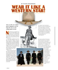 Old West Hats
