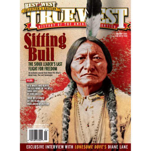 True West Magazine Jan2021 Sitting Bull