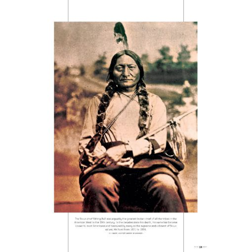 True West Magazine January 2021 Sitting Bull Portrait