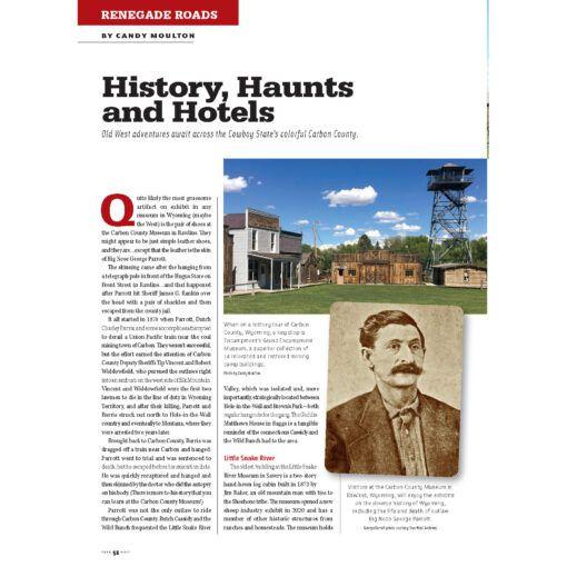 True West Magazine Jun2021 History Haunts Hotels