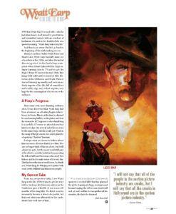True West Magazine Oct2021 Wyatt Earp Ladies Man