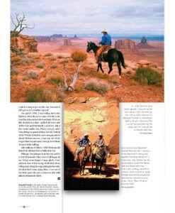 True West Magazine Nov2021 Ben Johnson Trail Ride